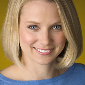 Marissa Mayer, CEO of Yahoo!
